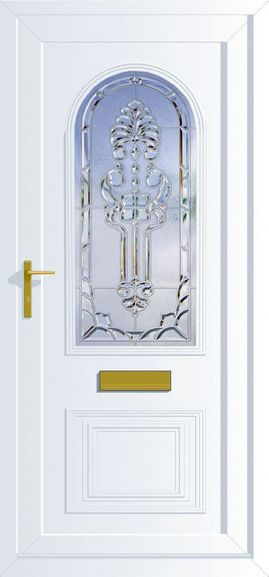 UPVC door option available from Cardinal Home Improvements